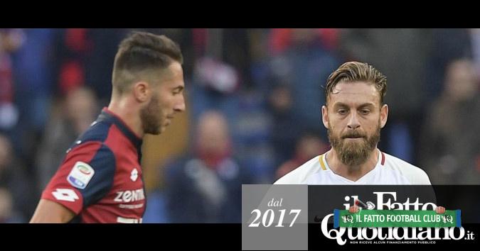 """Daniele De Rossi, il """"capitan Futuro"""" che non cresce mai è un male della Roma"""
