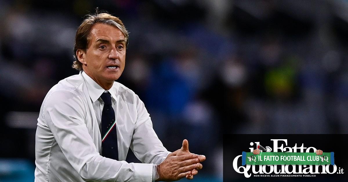 """Italia-Spagna, Mancini: """"Noi favoriti? Affrontiamo una squadra fortissima"""". Bonucci: """"Spinazzola? Abbiamo uno stimolo in più"""""""