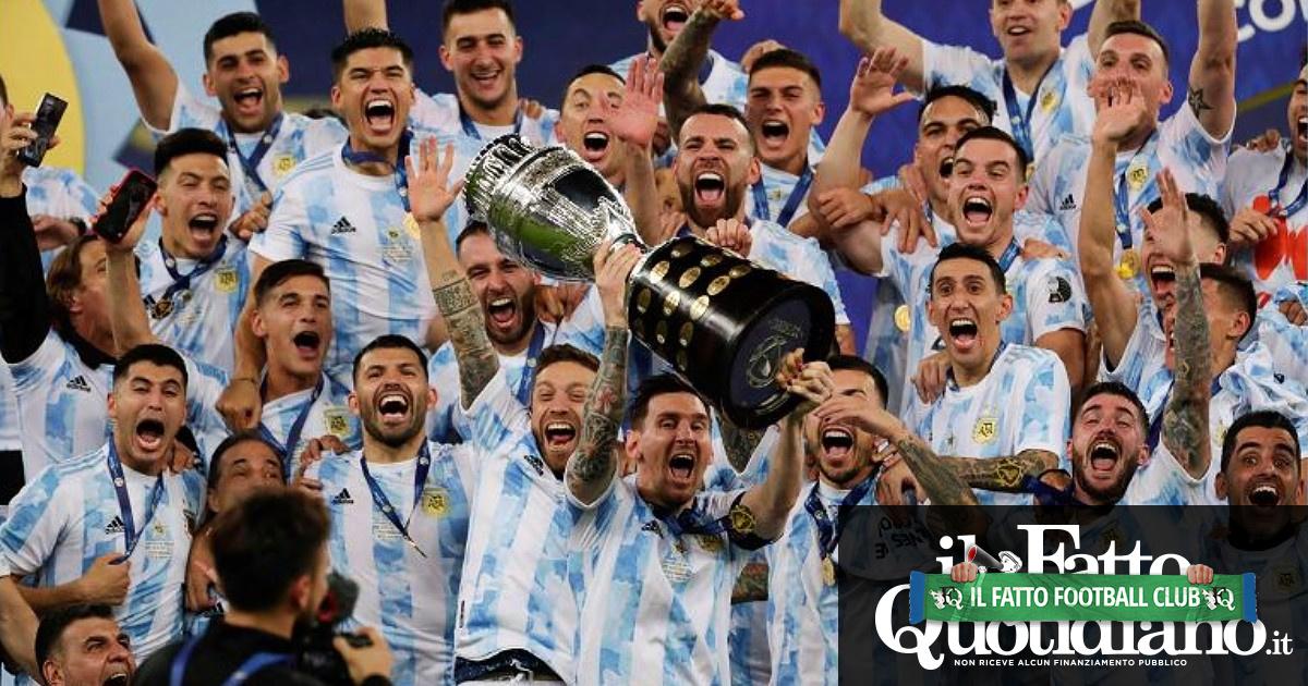 L'Argentina vince la Coppa America: battuto il Brasile per 1 a 0. Finisce la maledizione di Messi nella Selección
