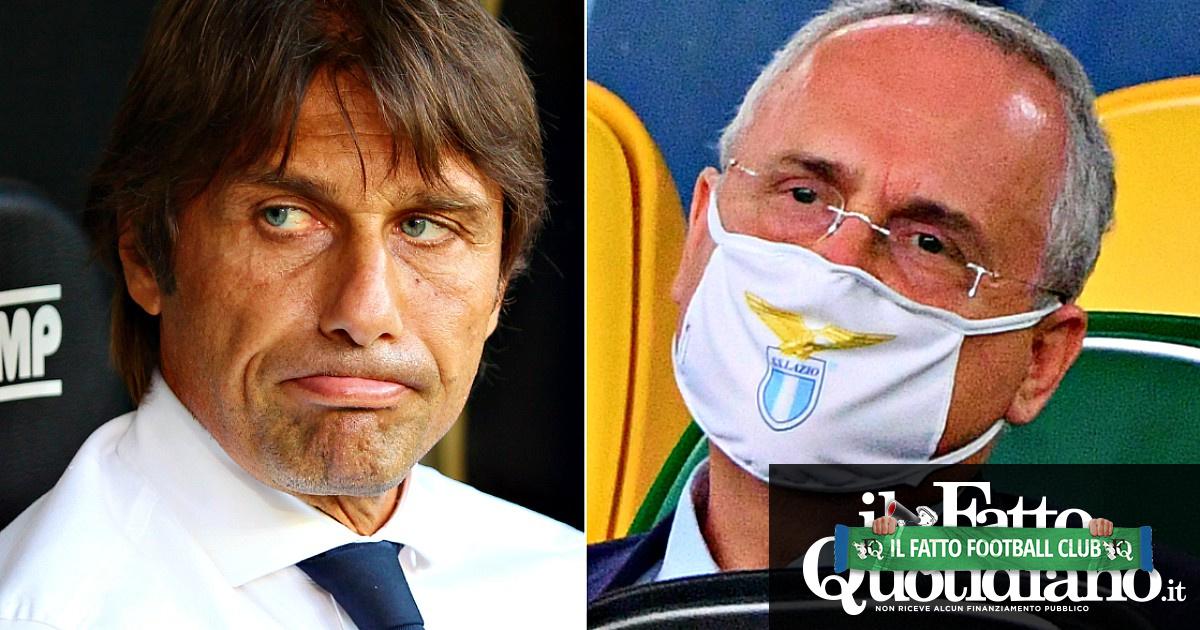 Juventus campione d'Italia, i rimpianti dei perdenti: le lacrime di Conte, la caciara di Lotito e l'ammuina di De Laurentiis