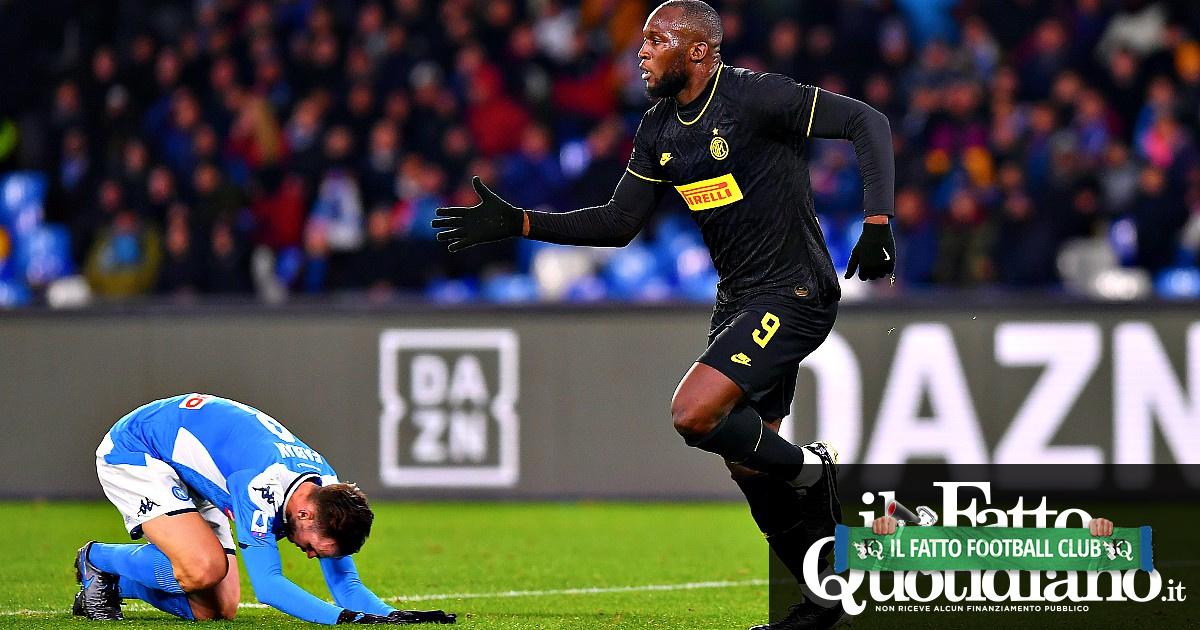 Napoli-Inter crocevia del campionato: ora i nerazzurri sono una grande, raccolgono il testimone da una squadra ridimensionata