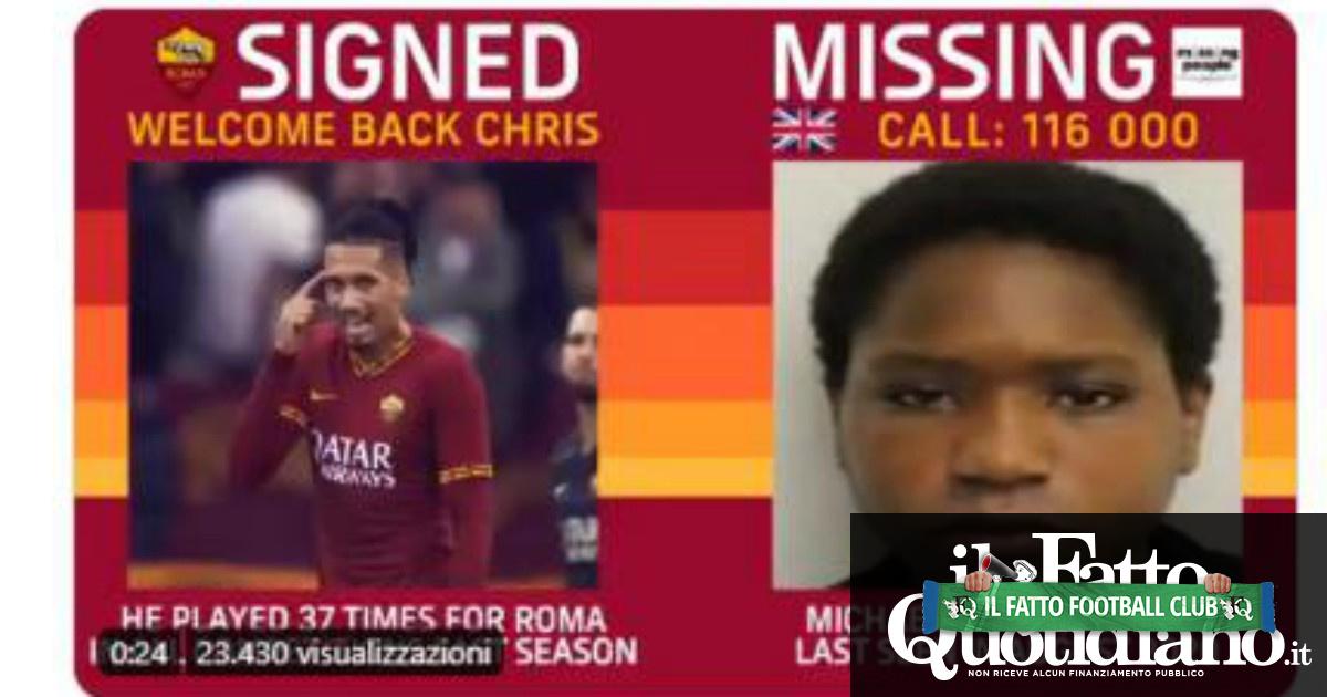 Foto e video di un ragazzo scomparso ad ogni colpo di mercato: in due anni la campagna social della Roma ha permesso di ritrovare 7 minori