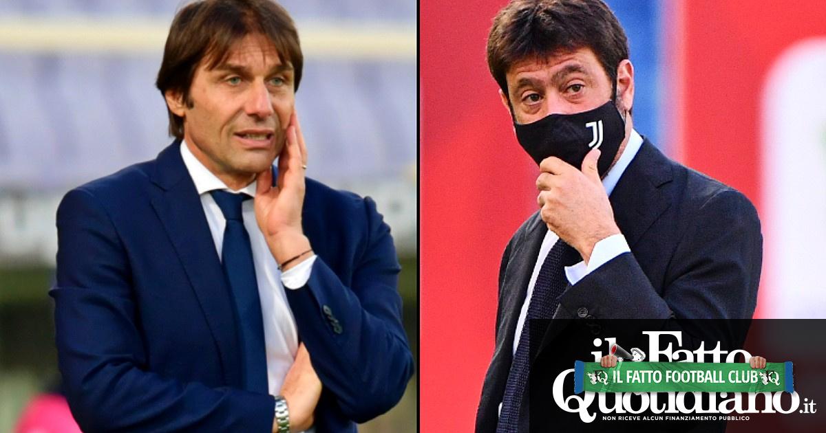 Agnelli-Conte, nessuna sanzione: la Figc ha visto nulla e gli spettatori solo qualcosa (anche perché le immagini sono della Juventus)