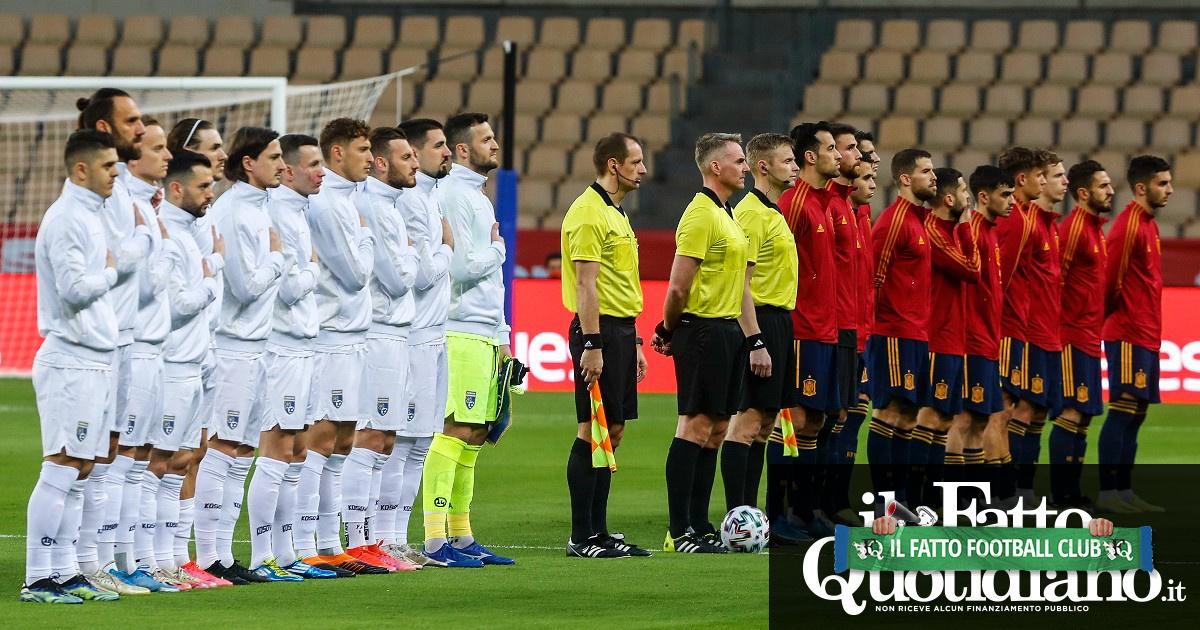 La Spagna 'cancella' il nome del Kosovo dal match di qualificazione ai Mondiali in Qatar