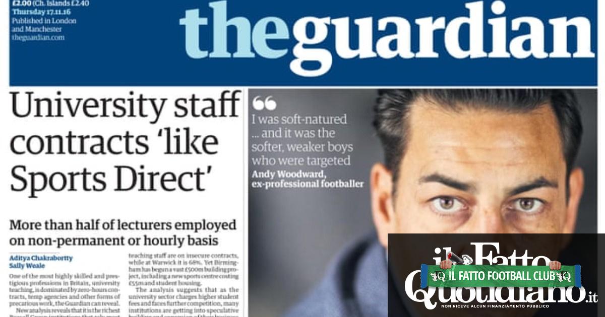 Abusi sessuali sui giovani calciatori inglesi – L'abisso di Andy Woodward: l'intervista che ha sgretolato l'omertà del sistema britannico