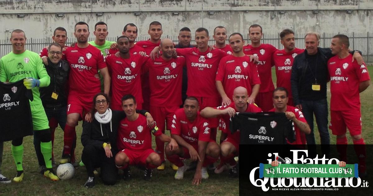 Polisportiva Pallalpiede, per i detenuti del Due Palazzi di Padova l'evasione è tirare calci a un pallone