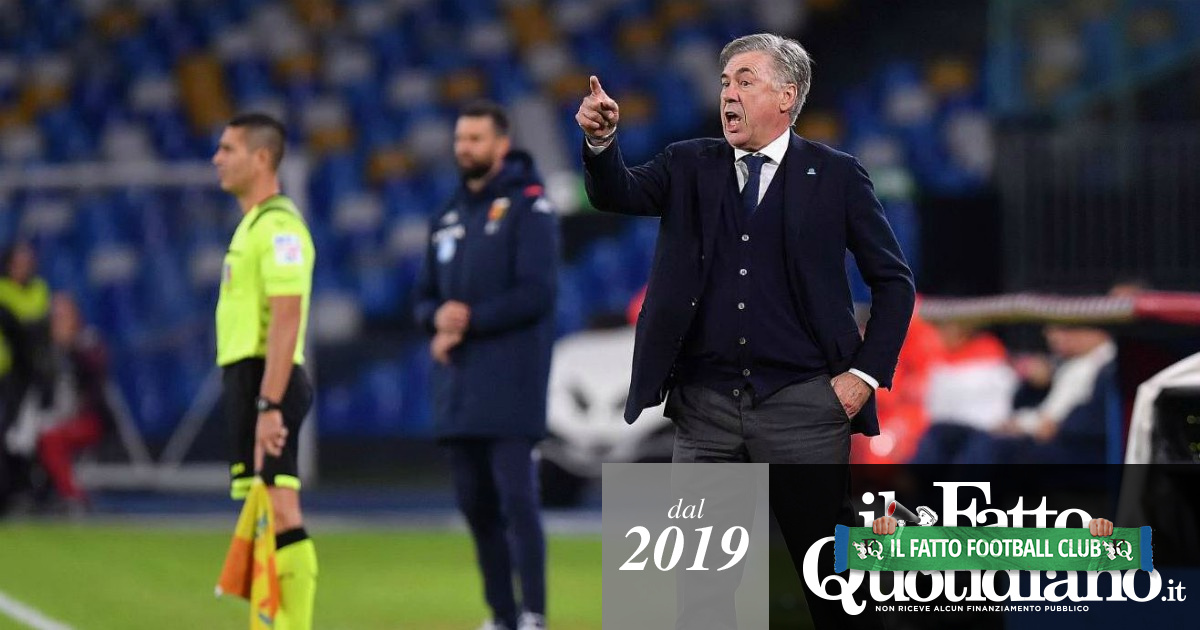 Crisi Napoli, il problema non sono le multe ma Ancelotti: ha fallito prima lui, poi lo spogliatoio