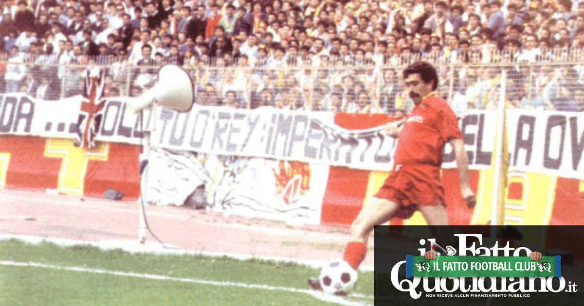 Massimo Palanca, 30 anni fa l'ultima partita del giocatore simbolo del Catanzaro. Per tutti è l'uomo dei gol da calcio d'angolo