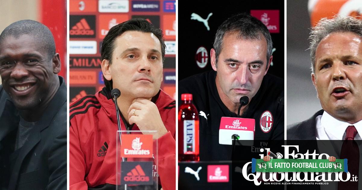 Milan, da Giampaolo a Inzaghi, da Seedorf a Montella fino a Gattuso, Brocchi e Mihajlovic: dopo Allegri la panchina del Diavolo è un inferno