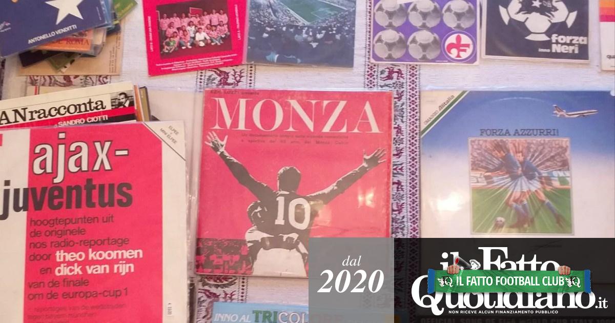 Inni improbabili, sigle di trasmissioni tv, telecronache: un tifoso del Vicenza e la sua collezione di 600 dischi sullo sport