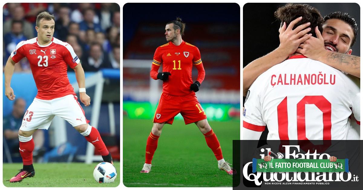Il Galles di Bale, la Turchia che sogna l'exploit del 2008 e la Svizzera che punta al record: ecco chi sono le avversarie dell'Italia agli Europei