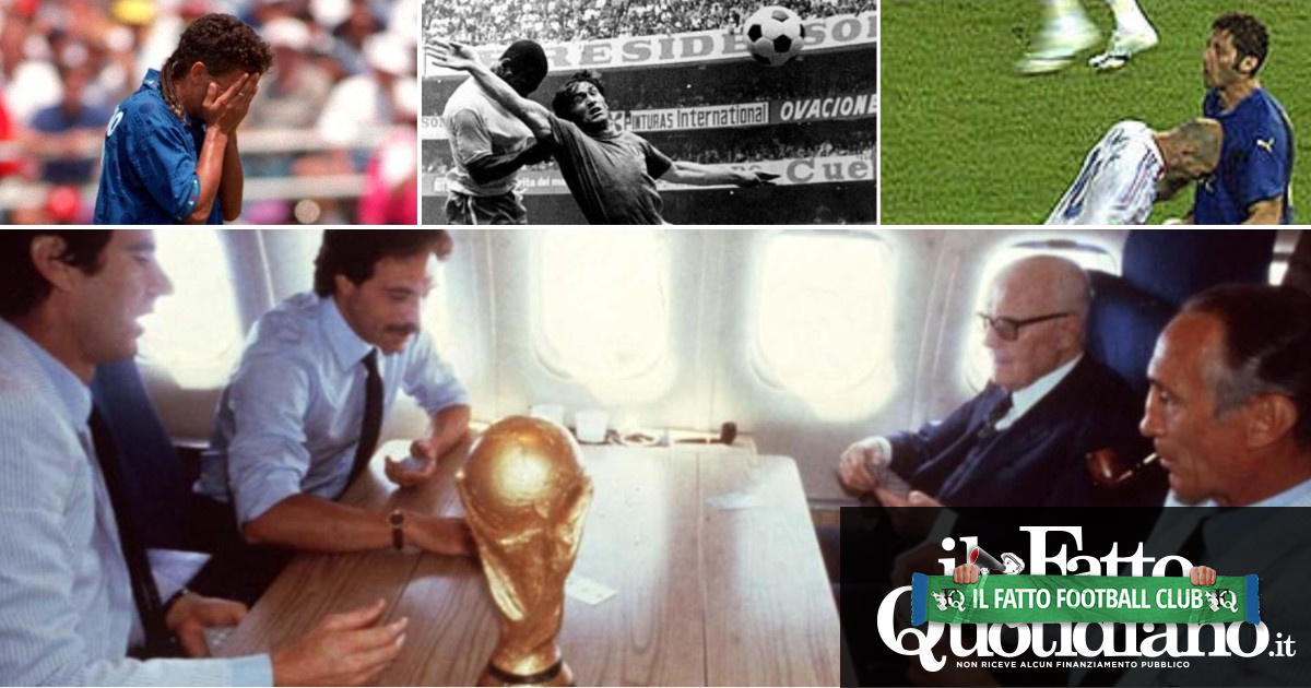 L'urlo di Tardelli, l'esultanza di Pertini, il rigore di Grosso, lo sguardo fisso di Baggio: lo sbloccaricordi, ovvero le finali dell'Italia in una foto