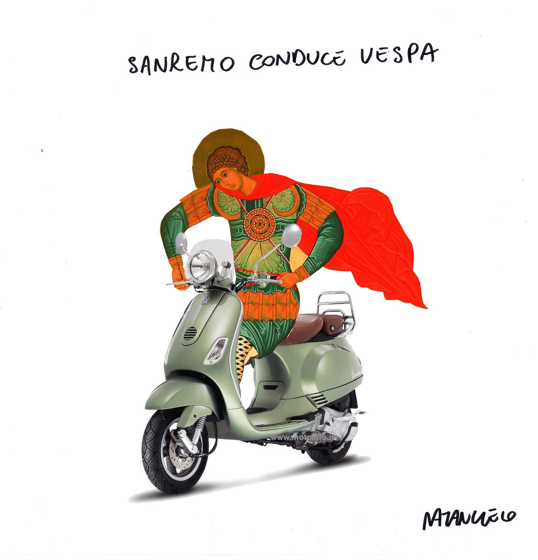 Vignetta di Mario Natangelo