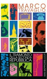 Copertina dvd Berluscoma di Marco Travaglio