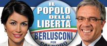 Un particolare del manifesto elettorale di Carfagna e Diodato