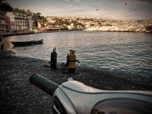 Una veduta di Napoli
