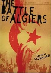"""La locandina del film """"La battaglia di Algeri"""" di Gillo Pontecorvo"""
