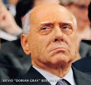 """Silvio """"Dorian Gray"""" Berlusconi: una ricostruzione amatoriale di come sarebbe il presidente del Consiglio senza trucco e interventi di chirurgia estetica"""