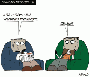 La vignetta di Arnald tratta da Diversamenteoccupati.it