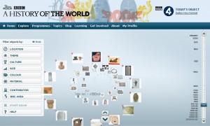 Il sito dell'iniziativa A History of the World realizzata dalla Bbc e dal British Museum