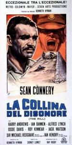 """La locandina del film """"La collina del disonore"""" di Sidney Lumet"""