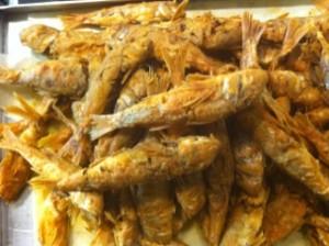 Un fritto di pesce