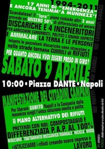 Piano alternativo dei rifiuti in Campania