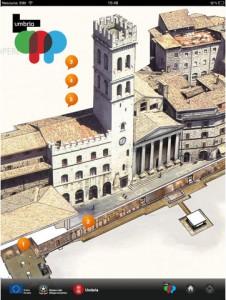 L'Umbria App per iPad sviluppata dalla Regione Umbria