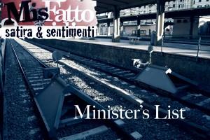 Minister's list