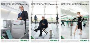 Le foto della nuova campagna istituzionale Alitalia