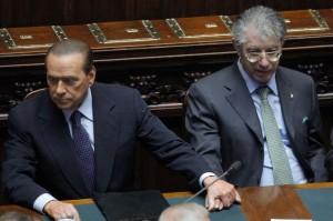 Berlusconi e Bossi