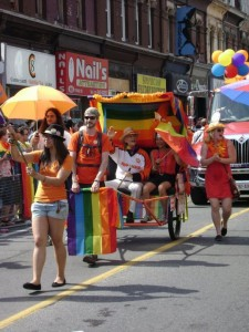 Jack Layton al Pride Toronto