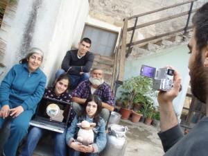 La famiglia Concas, proprietaria di Sardinia Farm