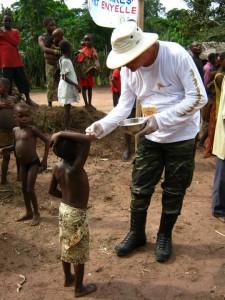 Donato Didonna in Congo