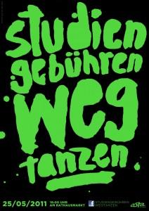 """Via le tasse ballerine"", lo slogan degli studenti tedeschi"