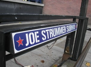 Il Joe Strummer Subway a Londra