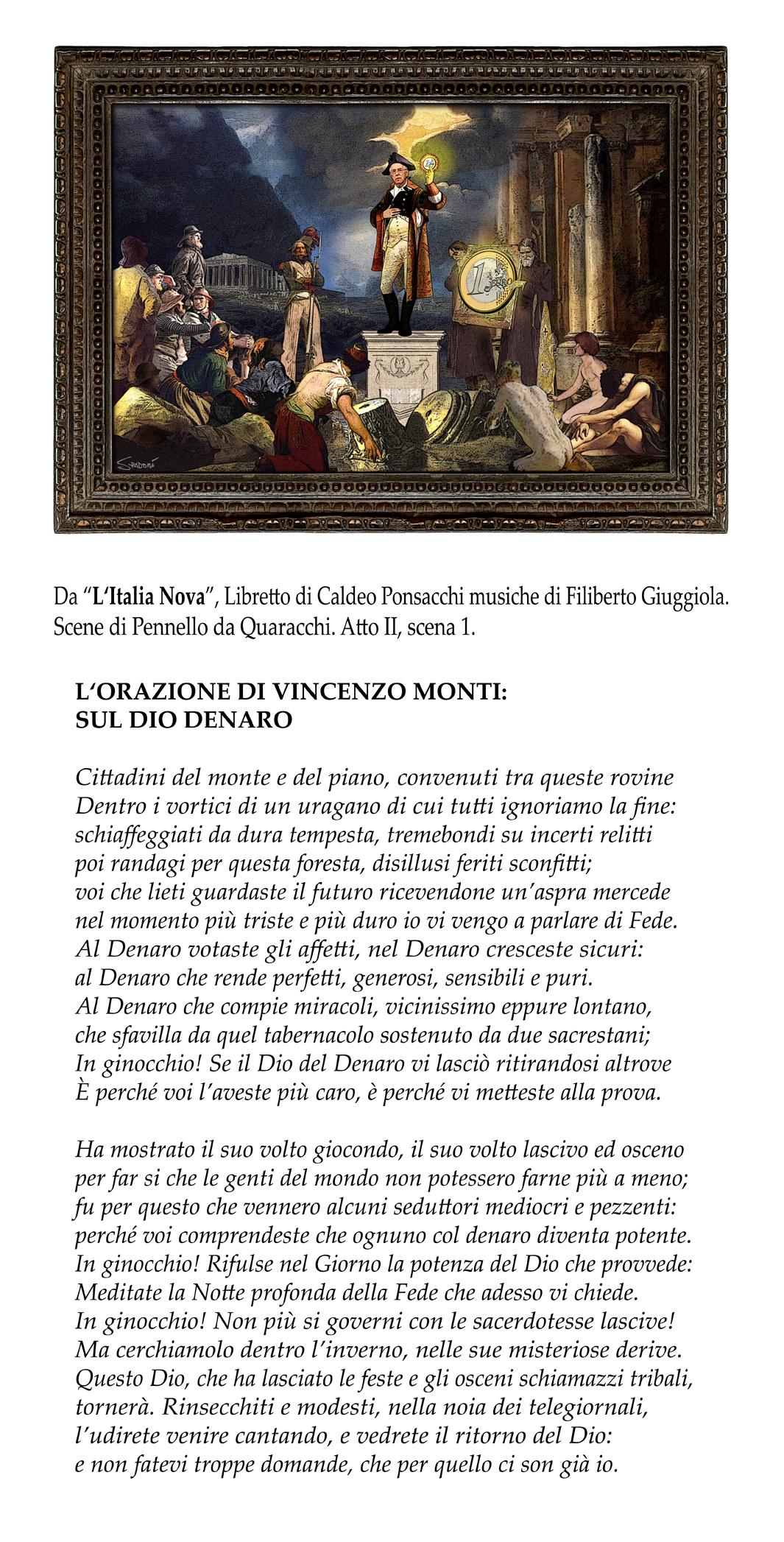 """L'Italia Nova, atto IV: """"Il discorso di Monti"""""""