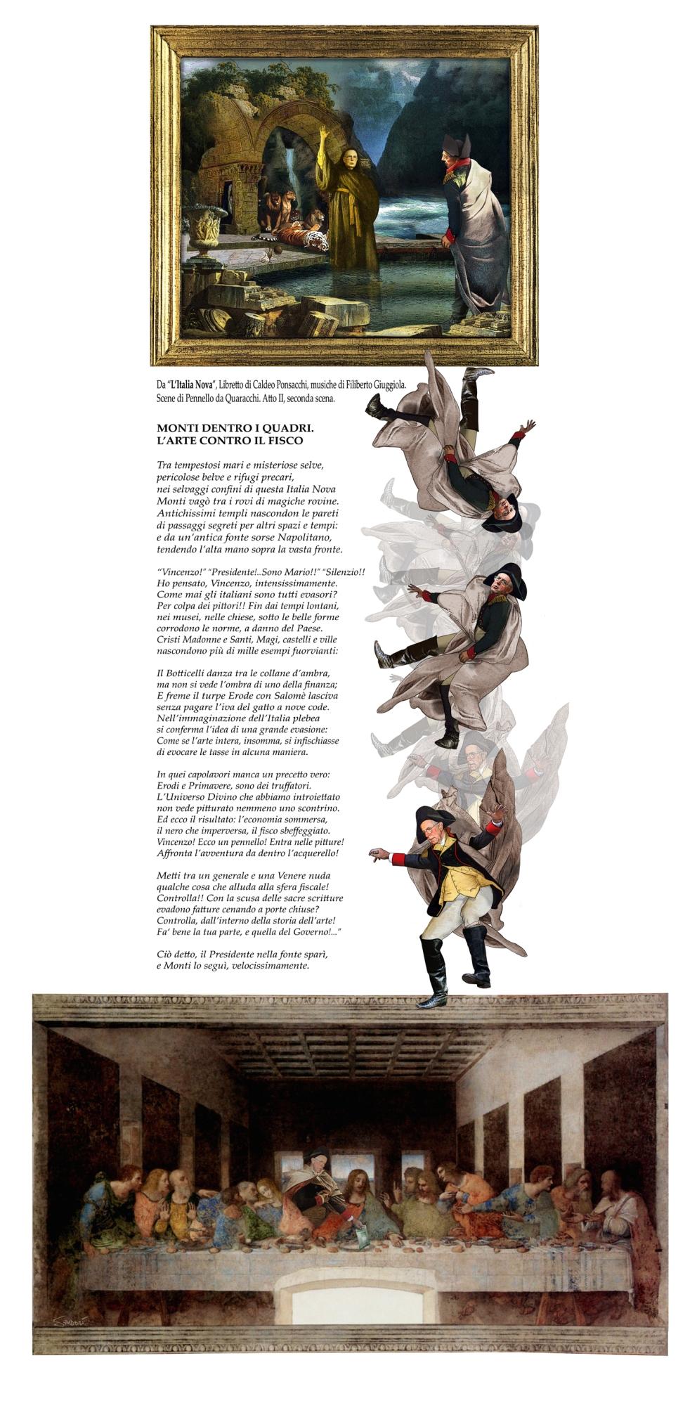 L'Italia Nova: Monti nei quadri