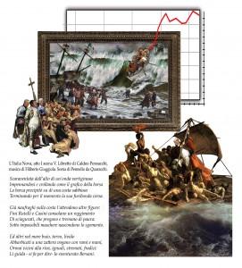 Tavola di Francesco Spadoni con testi di David Riondino