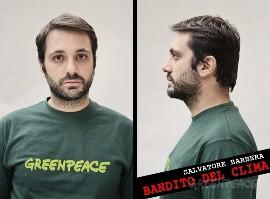 """Salvatore Barbera, l'attivista di Greenpeace """"bandito"""" da Roma"""