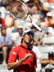 Kei Nishikori agli Australian Open 2012