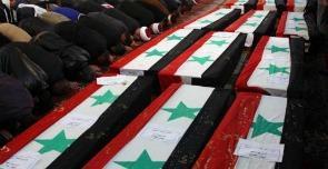 Siria, funerali dopo gli attentati di fine dicembre