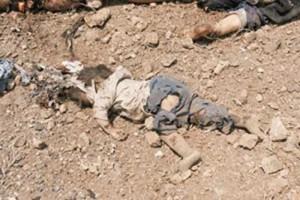Foto scattata durante il massacro di Hama
