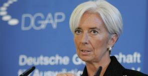 Il direttore dell'Fmi Christine Lagarde