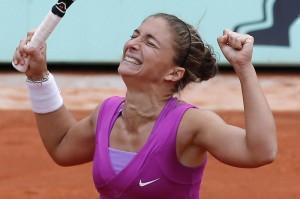 Roland Garros - Sara Errani vs Svetlana Kuznetsova