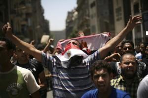 Egitto, proteste anti-Mubarak