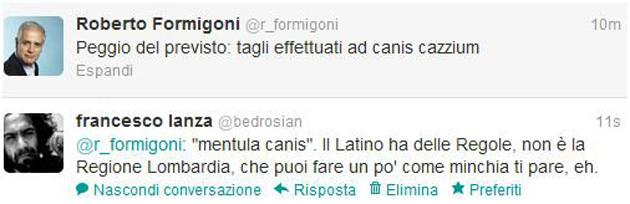 formigoni tweet