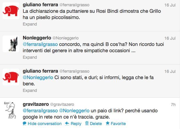 Giuliano Ferrara tweet