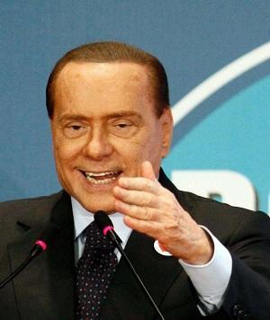 Berlusconi alla Convention dei Liberali Popolari del Pdl (La Presse)