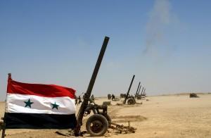 Siria, esercitazioni militari